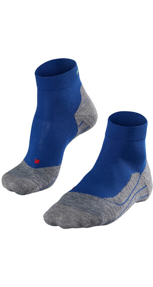 Falke RU4 Short Hardloopsokken Heren grijs/blauw
